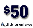 $50 Gift Certificate (sent electronically)