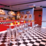 50's Diner: Blast From The Past 12 x 12 Paper
