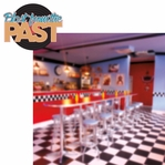 50's Diner: Blast From The Past 2 Piece Laser Die Cut Kit
