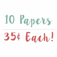 Get these 10 papers for only 35� each!