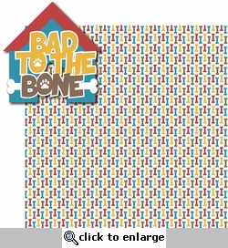 A Dog's Life: Bad To The Bone 2 Piece Laser Die Cut Kit