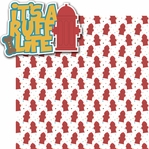 A Dog's Life: It's A Ruff Life 2 Piece Laser Die Cut Kit