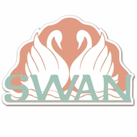 A Magical Stay: The Swan Laser Die Cut