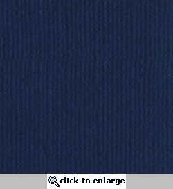 Admiral Canvas 12 X 12 Bazzill Cardstock (Blue)