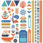 Adrift: Element 12 x 12 Cardstock Stickers