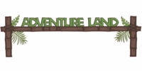 Adventure Land: Adventure Land Laser Die Cut