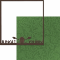 Adventure Land: Jungle Cruisin' 12 x 12 Overlay Quick Page Laser Die Cut