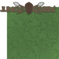 Adventure Land: Jungle Cruisin' Laser 2 Piece Die Cut Kit