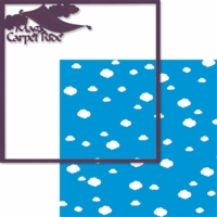 Adventure Land: Magic Carpet Ride 12 x 12 Overlay Quick Page Laser Die Cut