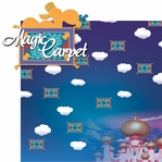Adventure Land: Magic Carpet Ride 2 Piece Laser Die Cut Kit