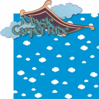 Adventure Land: Magic Carpet Ride Laser 2 Piece Die Cut Kit