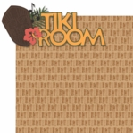 Adventure Land: Tiki Room  Laser 2 Piece Die Cut Kit