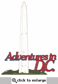 Adventures In D.C. Laser Die Cut