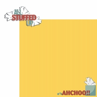 Ah choo: All Stuffed 2 Piece Laser Die Cut Kit