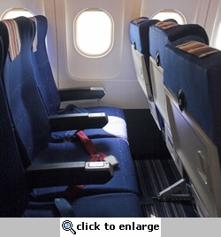 Airplane Seats 12 x 12 Paper