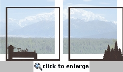 Alaska: Denali Double 12 x 12 Overlay Quick Page Laser Die Cut