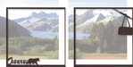 Alaska: Juneau Double 12 x 12 Overlay Quick Page Laser Die Cut