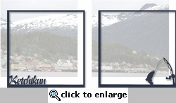 Alaska: Ketchikan Double 12 x 12 Overlay Quick Page Laser Die Cut