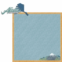 Alaska Travels: AK Frontier 2 Piece Laser Die Cut Kit