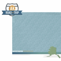 Alaska Travels: AK Road Trip 2 Piece Laser Die Cut Kit