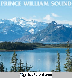 Alaskan Cruise: Prince William Sound 12 x 12 Paper
