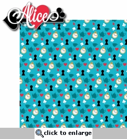 Alice In Wonderland: Alice 2 Piece Laser Die Cut Kit