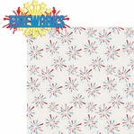 All American: Fireworks  2 Piece Laser Die Cut Kit