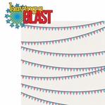 All American: Having A Blast 2 Piece Laser Die Cut Kit