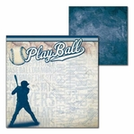 All Baseball: All Baseball 12 x 12 Double-Sided Cardstock