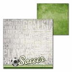 All Soccer: All Soccer 12 x 12 Double-Sided Cardstock