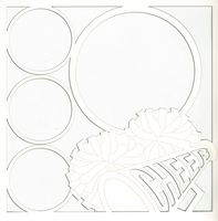 All Star: Cheer 12 x 12 Overlay Laser Die Cut