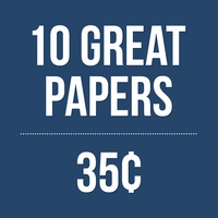 All These Papers for only 35� each!