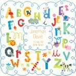 Alphabet Birth Record Dimensions Needlework