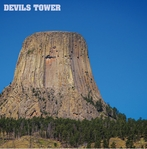 America Land: Devil's Tower 12 x 12 Paper