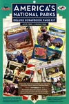 America's National Parks Scrapbook Kit
