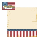 Americana: Stars and Stripes 2 Piece Laser Die Cut Kit