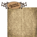 Ancestry: Cherished Memories 2 Piece Laser Die Cut Kit