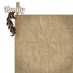 Ancestry: Family History 2 Piece Laser Die Cut Kit