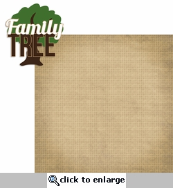 Ancestry: Family Tree 2 Piece Laser Die Cut Kit