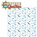 Anchors Aweigh: On The Open Seas 2 Piece Laser Die Cut Kit