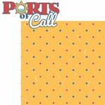 Anchors Aweigh: Ports of Call 2 Piece Laser Die Cut Kit