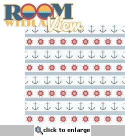 Anchors Aweigh: Room With A View 2 Piece Laser Die Cut Kit