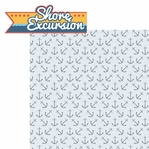 Anchors Aweigh: Shore Excursion 2 Piece Laser Die Cut Kit