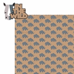 Animal Adventures: In the Wild 2 Piece Laser Die Cut Kit