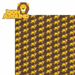 Animal Adventures: Lion Around 2 Piece Laser Die Cut Kit