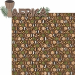 Animal Kingdom: Africa 2 Piece Laser Die Cut Kit
