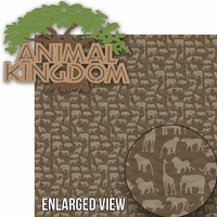 Animal Kingdom: Animal Kingdom Laser Die Cut Kit