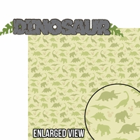 Animal Kingdom: Dinosaur 2 Piece Laser Die Cut Kit