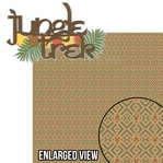 Animal Kingdom: Jungle Trek 2 Piece Laser Die Cut Kit