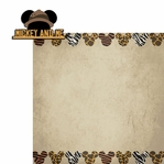 Animal Kingdom: Mickey & Me 2 Piece Laser Die Cut Kit